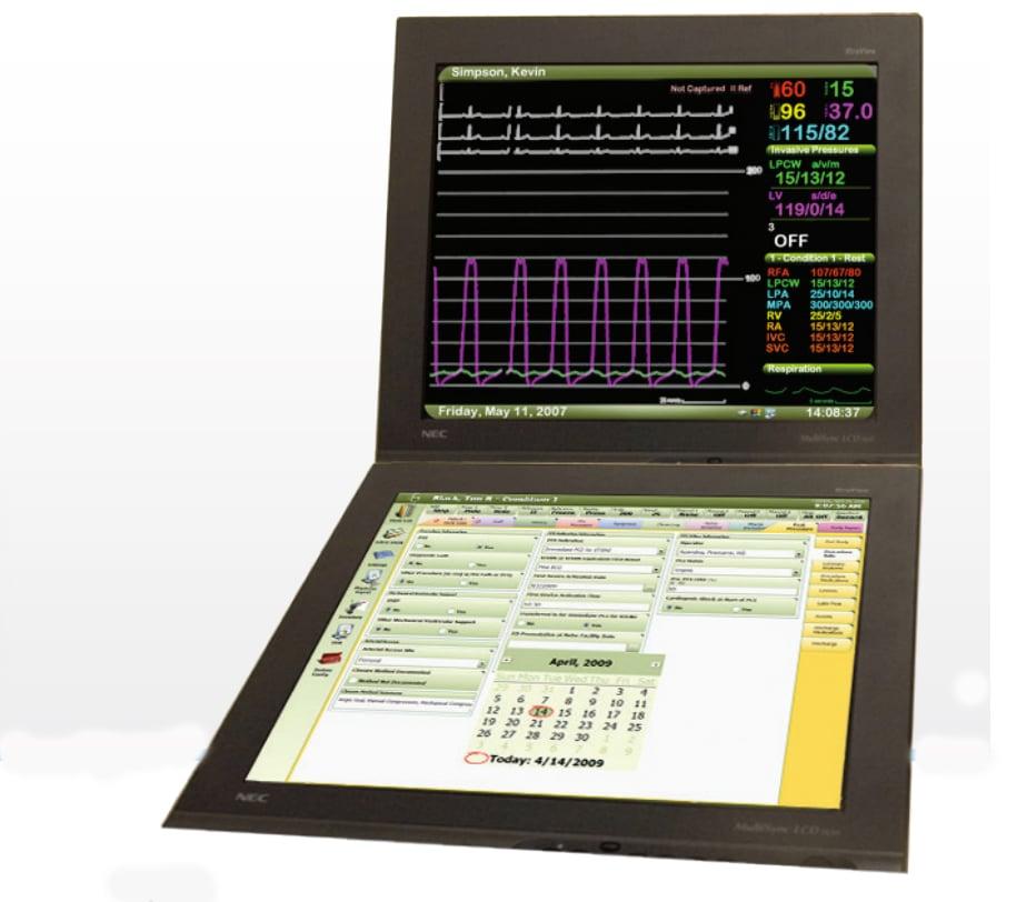 Ecg hemodynamic monitoring strip-3987