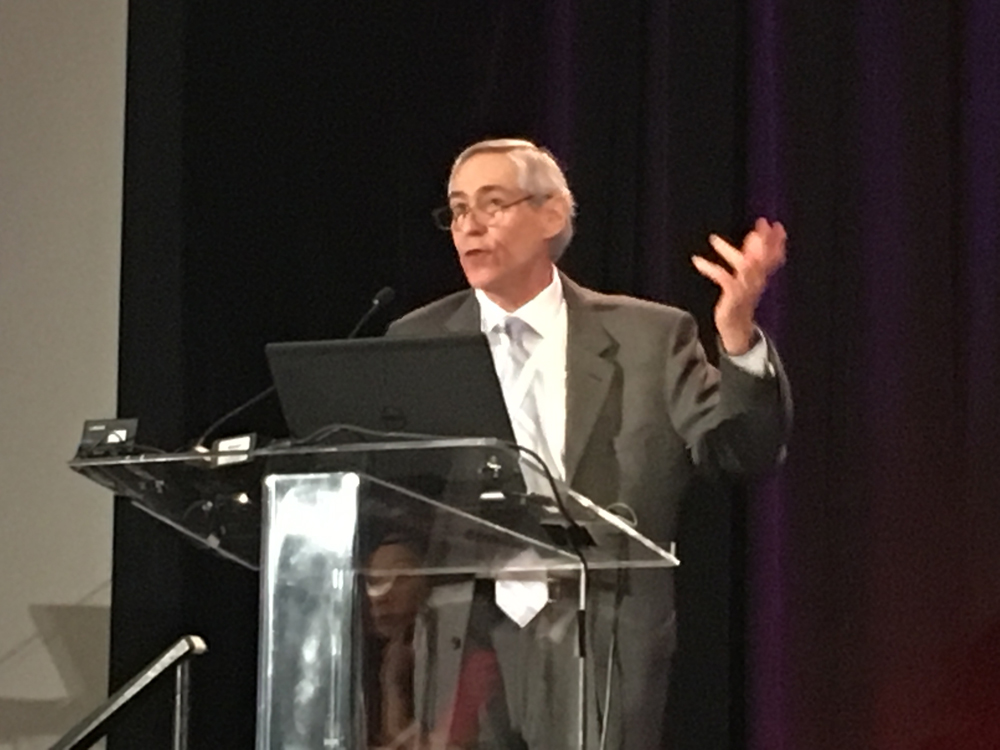 ASNC, and keynote speaker John Mahmarian, M.D., Houston Methodist, both said nuclear cardiology is well-positioned to weather the CT-FFR storm in cardiac imaging.  #ASNC #ASNC19 #ASNC2019