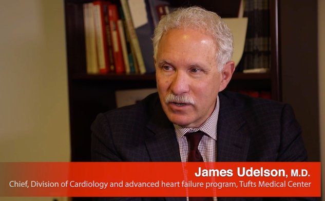 James Udelson explains the heart failure program at Tufts Play Mute Current Time  0:37 / Duration  9:55   Picture-in-Picture Fullscreen Interview with James Udelson, M.D., chief of the division of cardiology at Tufts Medical Center, discusses heart failure care.
