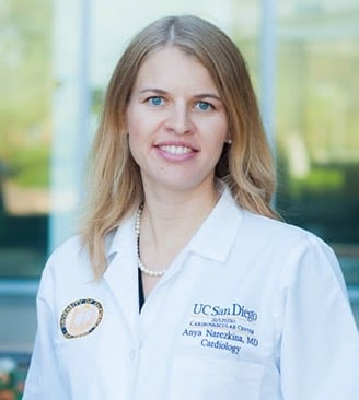 Anya Narezkina, M.D. Assistant Clinical Professor, Division of Cardiovascular Medicine Director of the Cardio-Oncology Program University of California San Diego Cardiovascular Institute