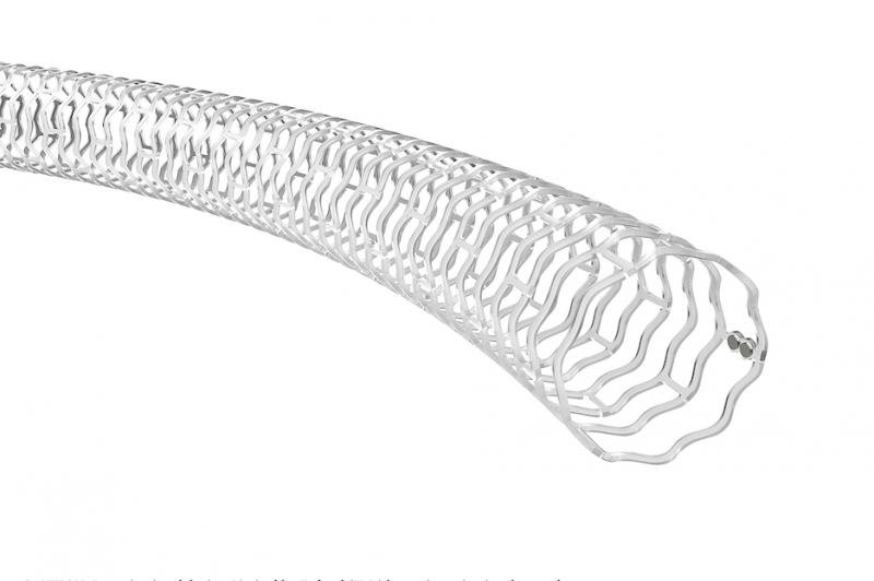 Abbott Espirit BTK Bioresorbable stent, or bioresorbable vascular scaffold (BVS) measures 99 microns and is made from poly-L-lactide (PLLA), a semi-crystalline bioresorbable polymer engineered to resist vessel recoil and provide a platform for drug delivery. Abbott Absorb