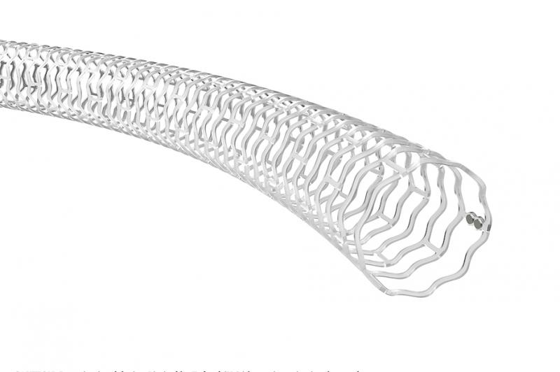 Abbott Espirit BTK Bioresorbable stent, or bioresorbable vascular scaffold (BVS)measures 99 microns and is made from poly-L-lactide (PLLA), a semi-crystalline bioresorbable polymer engineered to resist vessel recoil and provide a platform for drug delivery. Abbott Absorb
