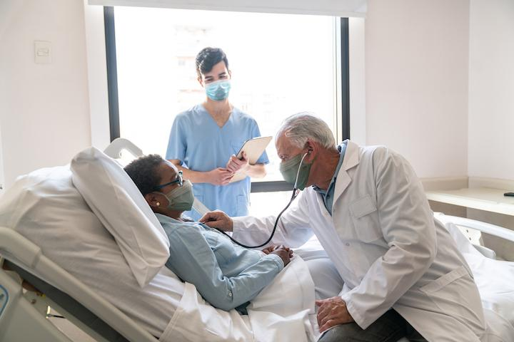 Cardiologists are taking a closer look at the possible long-term cardiovascular effects on COVID long-hauler patients who still show symptoms long after they should be recovered from the virus. Getty Images
