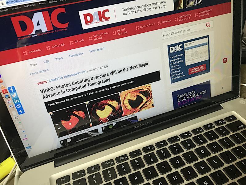 DAIC magazine goes all digital