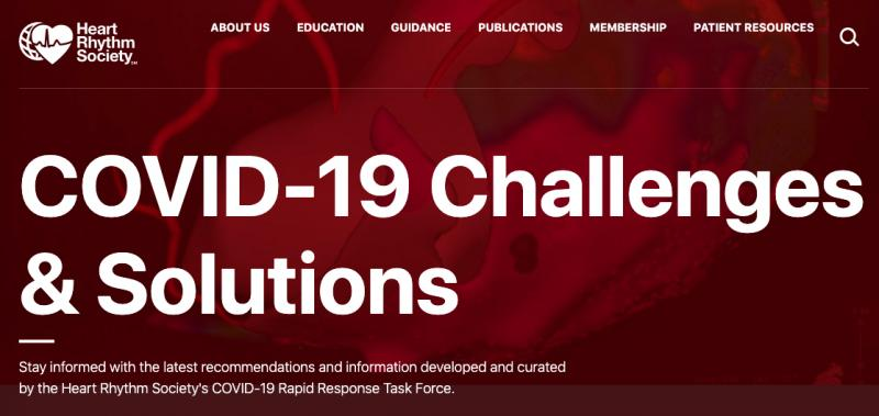 While the HRS annual meeting is cancelled, the society has created a resource page to help its members in the fight against COVID-19 at https://www.hrsonline.org/COVID19-Challenges-Solutions. #HRS #COVID19 #coronavirus #SARScov2