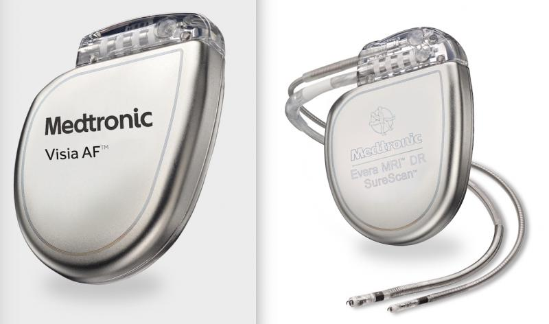"Medtronic is recalling some of its implantable cardioverter defibrillators (ICD) and cardiac resynchronization therapy (CRT-D) devices because of an unexpected and rapid decrease in battery life. The company said this is due to a short circuit and will cause some devices to produce a ""Recommended Replacement Time"" (first warning that the battery is low) earlier than expected. Some devices may progress from ""Recommended Replacement Time"" to full battery depletion within as little as one day."