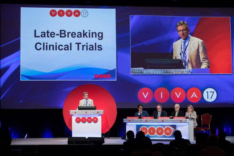 Viva conference late breaking clinical trials, #VIVA19 #VIVA #VIVA2019
