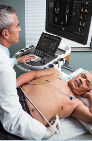 The Philips Epiq cardiac ultrasound system includes automated measurements and anatomical identification based on an artificial intelligence algorithm. #ASE #ASE16