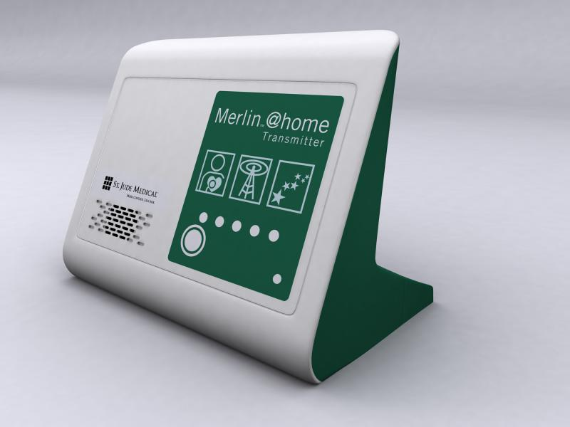 Cybersecurity concerns were raised over the St. Jude Medical (SJM) Merlin@home EP device home monitoring system