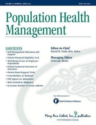 Population Health Management Medical Therapy Angioplasty Coronary Artery Disease