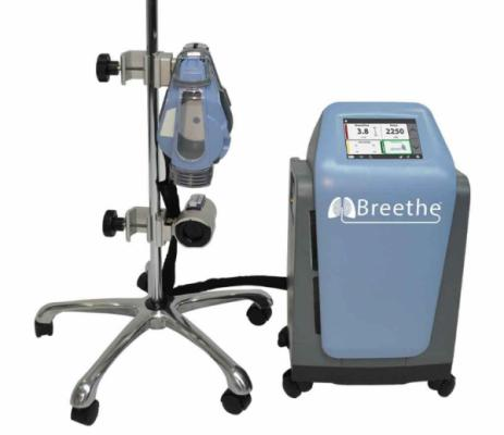 The first COVID-19 patient in the world was supported by the new Abiomed Breethe OXY-1 System at Hackensack University Medical Center.