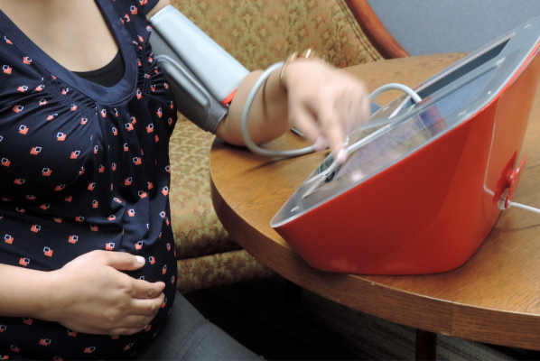 Women who develop high blood pressure during pregnancy are more likely to experience heart failure and heart attack. American Heart Association (AHA), #AHA2017