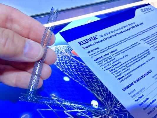Eluvia Drug-Eluting Stent Demonstrates Superior Patency in IMPERIAL Trial
