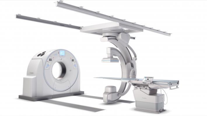 Canon Medical Debuts Alphenix 4-D CT at RSNA 2018