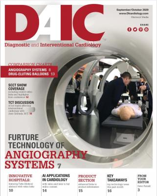 The September-October 2020 digital edition of Diagnostic and Interventional Cardiology (DAIC) magazine. Dave Fornell is the editor. #DAIC