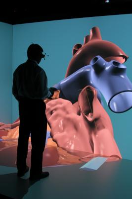 Dassault Systemes, Living Heart model, 3-D simulator