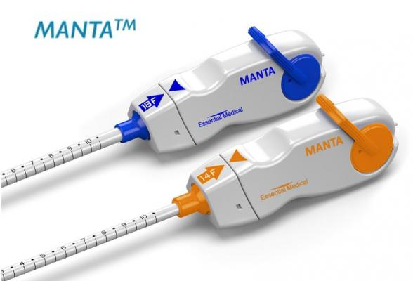 Enrollment Completed in U.S. IDE Trial for Manta Large Bore Vascular Closure Device
