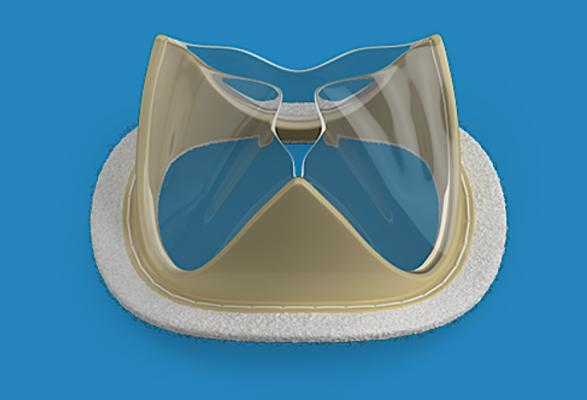 The Foldax Tria surgical valve reimagines the heart valve by incorporating a new, proprietary biopolymer, what the vendor calls LifePolymer, with an innovative valve design intended to eliminate calcification, withstand stresses and strains without failure, and restore patient quality of life without lifelong use of anticoagulants. Tria is also the first heart valve to be robotically manufactured, reducing variability, enabling high precision, repeatability and better quality control.
