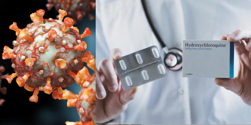 NIH trial, the Outcomes Related to COVID-19 treated with Hydroxychloroquine among Inpatients with symptomatic Disease (ORCHID), showed no difference in deaths between placebo and hydroxychloroquine. Getty Images