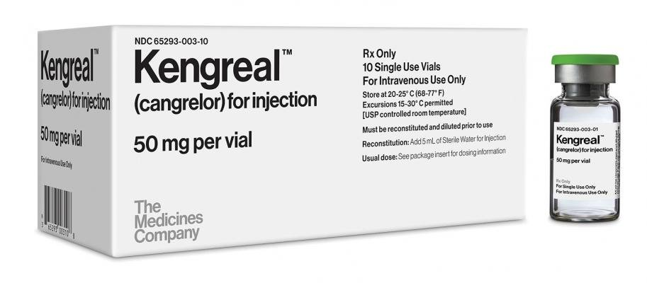 cangrelor, Kangreal, FDA approval, The Medicines Company, antiplatelet agent