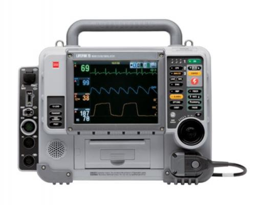 """tryker is launching a voluntary field action on specific units of the LifePAK 15 defibrillator/monitors. The vendor said an issue has been identified where the devices to fail to deliver a defibrillation shock after the """"Shock"""" button on the keypad is pressed."""