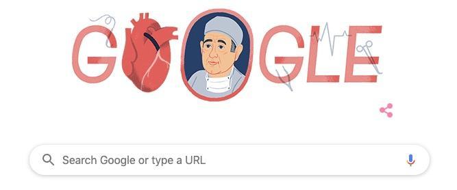 Google Doodle Celebrates Coronary Artery Bypass Graft Pioneer René Favaloro