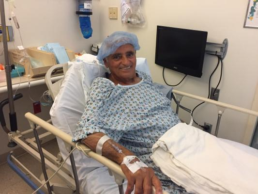 79-year-old Tony Marovic had a right carotid endarterectomy shortly after discovering a 95 percent blockage of his carotid artery at a health and wellness screening event
