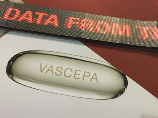Vascepa Markedly Reduces First, Repeat and Total Cardiovascular Events