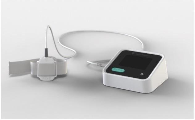 NIVAHF is an investigational device designed to monitor the venous waveform, a novel physiologic signal, in heart failure patients