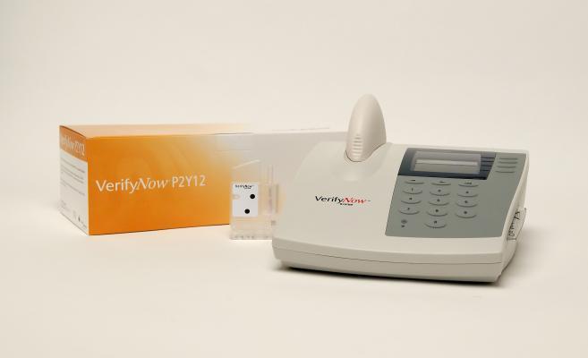 Accumetrics Inc. VerifyNow P2Y12 Test Bleeding Ischemic Events
