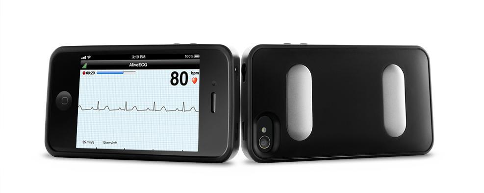 AliveCor Heart Monitor iPhone