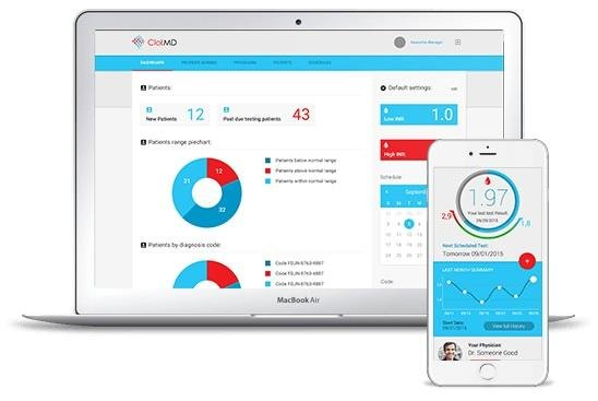 BBMK Technologies, ClotMD mobile app, real-time warfarin management
