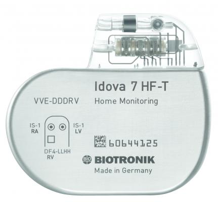 Biotronik Inc Idova 7 ICD MRI EP Lab Austria Italy