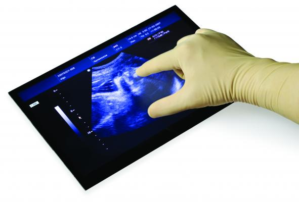 Grayhill, Instinct, touch panel, optically bonded, RSNA 2014