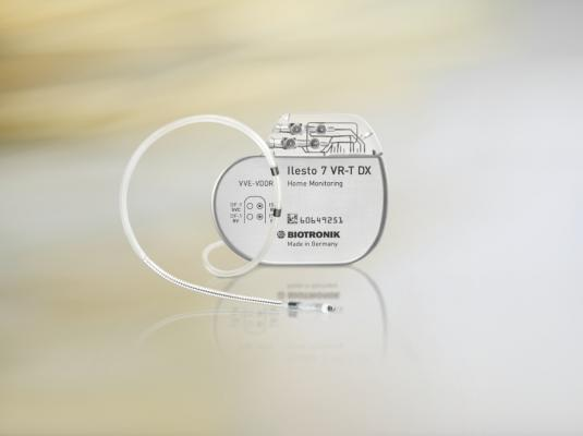 cardioverter defibrillator cardiac resynchronization therapy biotronik ilesto DX