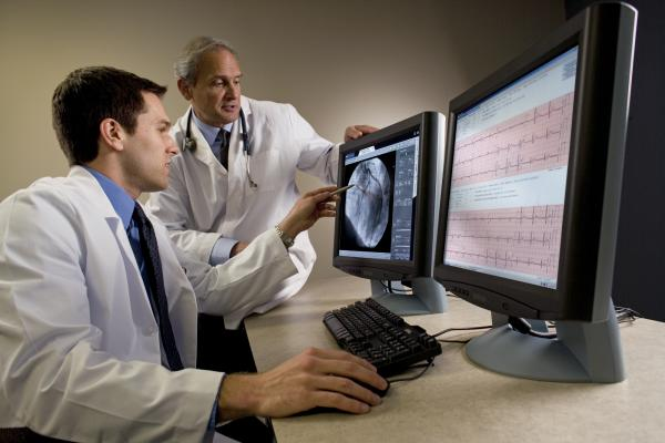 Agfa's CVIS can integrate cardiac radiology imaging with reporting for various areas, including, ECG, echo and cath lab.