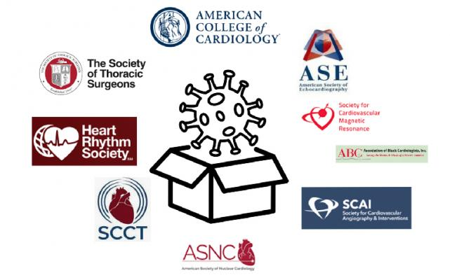 In an effort to contain COVID-19 and the new rapid spread of the delta virus across the U.S., a coalition of 10 cardiovascular societies issued a statement of support for healthcare systems requiring COVID-19 vaccines for its employees.ACC, HRS, ASNC, SCMR, SCCT, ASE, HFSA, STS, SCAI.