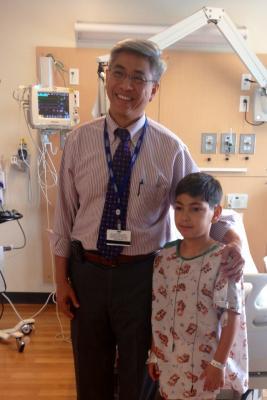 structural heart valve repair children's hospital los angeles