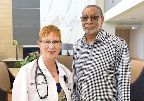 The life of Afib patient Glynn Crawford was saved three days after being prescribed a Zoll LifeVest wearable defibrillator by his cardiologist Barbara Williams, M.D., at   University Hospitals Ahuja Medical CenterShe identified him as a high-risk for sudden cardiac arrest.