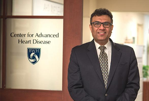 Foreign-trained doctors now make up one-third of cardiologists in the United States and help make up for the U.S. overall shortage of physicians. Pictured here is co-author of this article Mandeep R. Mehra, MBBS, MSc, FRCP, who is an example of the contribution international physicians have made in the U.S. He is medical director of the Brigham and Women's Hospital Heart and Vascular Center.