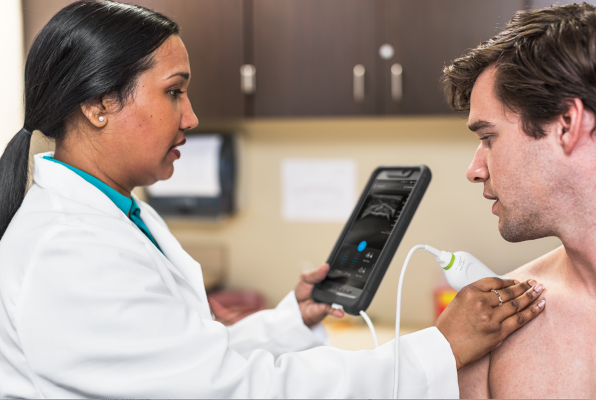 lumify, app based ultrasound, Philips point of care ultrasound