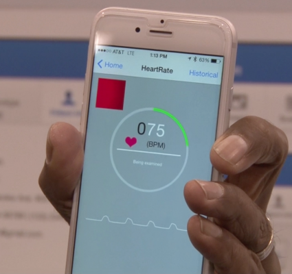 Smartphone to track heart health, wearables