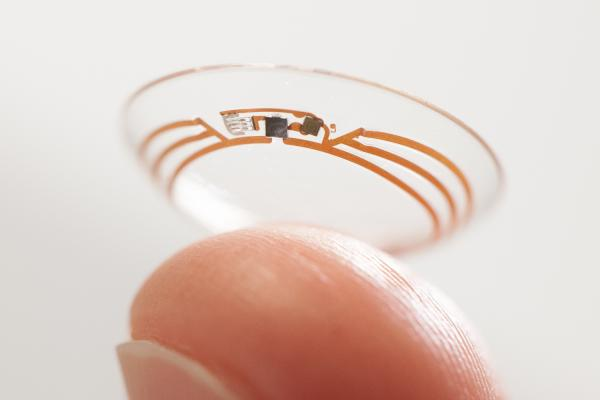 wearables, Novartis cantact lens glucose monitor