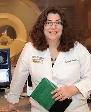 Pamela Woodard, nanoparticle, Washington University, PET scan, plaque