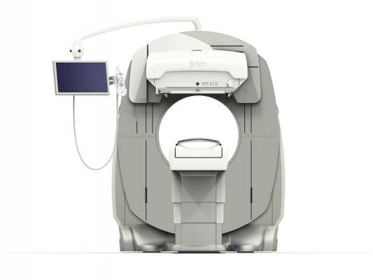 GE Brivo NM615 SPECT system can help lower SPECT nuclear imaging dose.