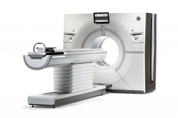 The GE Healthcare Revolution CT system