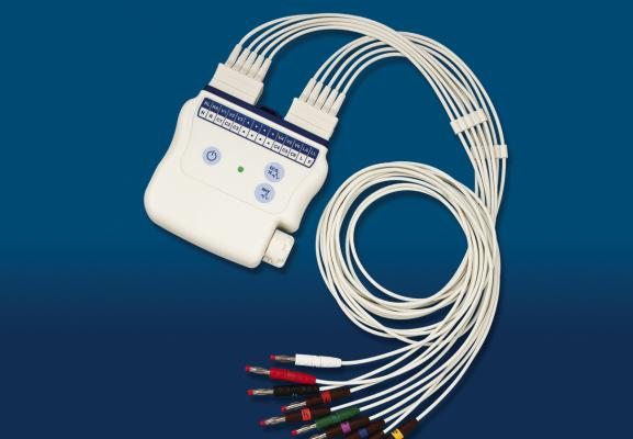 Mortara's Wirless Acquisition Model (WAM) enables ECGs to be recorded without the need to tether the patient to the monitoring system. ECG, ECG advances, new ECG technology