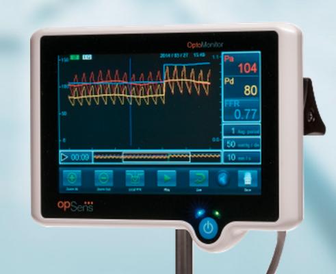 FFR, fractional flow reserve, Opsens Medical