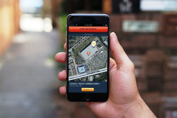 Pulsepoint, uberization of healthcare, sudden cardiac arrest