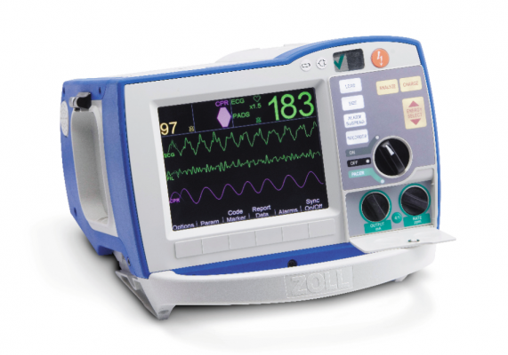 New Defibrillator Monitor Technology Offers More Data
